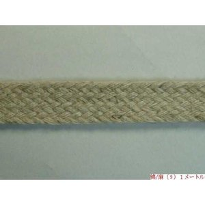 綿/麻(9)約13mm  1m単位切売り ※1色5mまで  天然素材/ハンドメイド|machida-ito