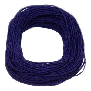 花結び紐(1mm)17紫|machida-ito