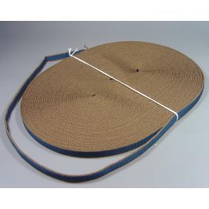 袋真田紐(約12mm)30m(茶紺)※幅は多少、前後することがございます。  桐箱/ラッピング/祭り/ハンドメイド|machida-ito