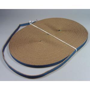 袋真田紐(約18mm)30m(茶紺)※幅は多少、前後することがございます。  桐箱/ラッピング/祭り/ハンドメイド|machida-ito