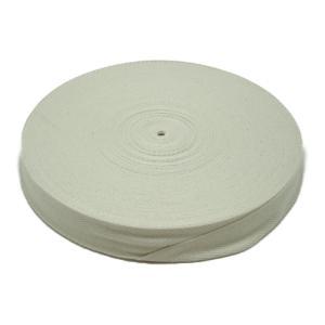 綿混厚綾テープ(生成)30ミリ 50m  天然素材/ハンドメイド|machida-ito
