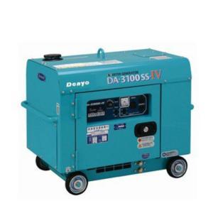 【eモード搭載で低燃料・低騒音 インバータ発電機】   デンヨー DA-3100SS-IV 小型ディ...