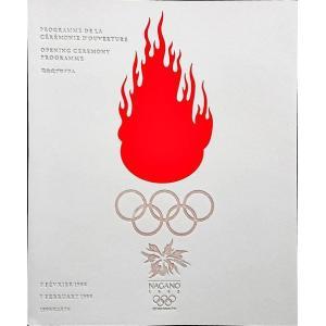 「長野オリンピック開会式プログラム」[B180137]|machinoiriguchi2