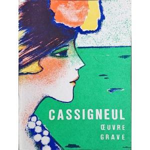 「カシニョール版画作品集(Jean-Pierre Cassigneul Oeuvre Grave 1965-1975)」[B190127]