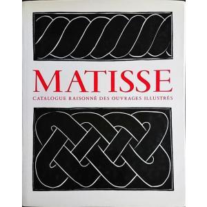 「マティス挿画本カタログレゾネ(Henri Matisse: Catalogue raisonne des ouvrages illustres)」[B190340]