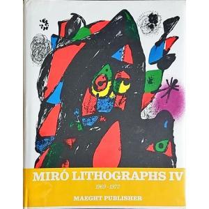 「ミロ リトグラフ IV(Miro Lithographs IV 1969-1972)(オリジナルリトグラフ5点入り)」[B190355]|machinoiriguchi2