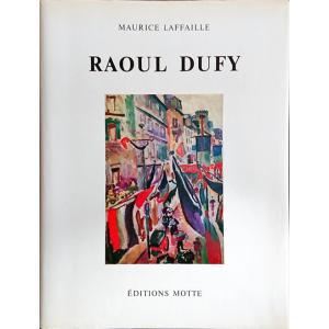 「ラウル・デュフィ油彩カタログレゾネ第1巻(Raoul Dufy Catalogue raisonne de l'oeuvre peint Tome I)」[B200406] machinoiriguchi2