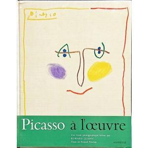 「ピカソ ポートレート集(Picasso a l'oeuvre: Une etude photographique intime)」[B210052]|machinoiriguchi2