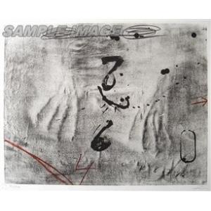 アントニ・タピエス「Empreintes de Mains」(版画)【額縁無し】[A050043]Antoni Tapies machinoiriguchi2