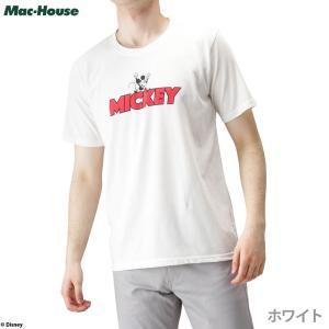 ミッキー Disney ディズニー 半袖Tシャツ ロゴTシャツ キャラクター 人気391103129...