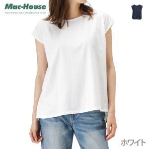 [11日限定全品11%OFFクーポン] 柔らかい素材で着心地抜群の半袖Tシャツ。 バック部分がストラ...