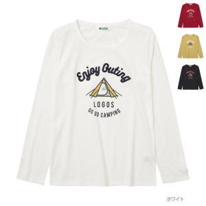 長袖Tシャツ ロンT レディース ロゴス ブランド プリントTシャツ ネコポス対応|Mac-House(マックハウス)