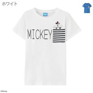 ミッキー Disney ディズニー ボーイズ ポケット付きTシャツ 326107002 キッズ