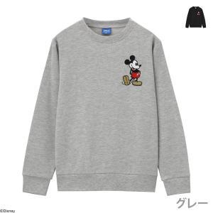 Disney ディズニー 子供 男の子 トレーナー クルーネック キッズ スウェット