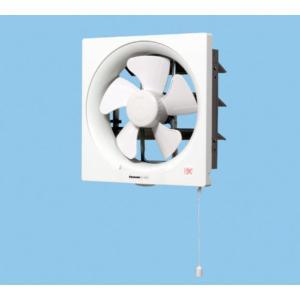在庫あり パナソニック FY-20P5 一般換気扇 スタンダード形 排気 連動式シャッター 引き紐式スイッチ 埋込寸法25cm角|macocoro