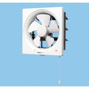 在庫あり パナソニック FY-25P5 一般換気扇 スタンダード形 排気 連動式シャッター 引き紐式スイッチ 埋込寸法30cm角|macocoro