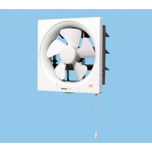 在庫あり パナソニック FY-30P5 一般換気扇 スタンダード形 排気 連動式シャッター 引き紐式スイッチ 埋込寸法35cm角|macocoro