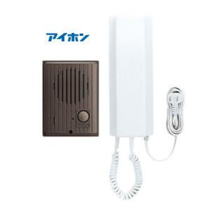 アイホン IES-1A/A ワンタッチドアホン1・1 AC電源プラグ式 セット内容玄関1室内1|macocoro