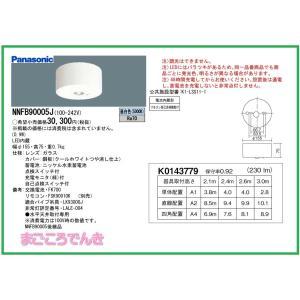 パナソニック NNFB90005J LED非常灯 専用型 直付型 30分間タイプ リモコン自己点検機能付|macocoro