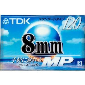 TDK 8mmビデオカセットテープ P6-120MPR120分スタンダードタイプ|macocoro