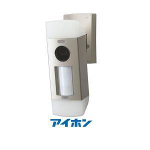 アイホン WJW-LC-T センサーライトカメラ 3台まで設置可能 AC電源直結式|macocoro