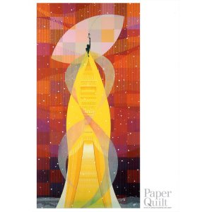 テツ山下 ポストカード  「バラ色の翼III〜管弦楽」|madelief