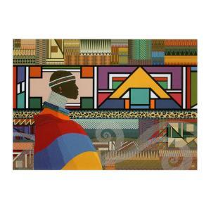 テツ山下 ポストカード  「アフリカの南」|madelief
