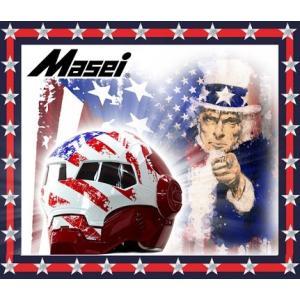 ジェットヘルメット ヘルメット ロボヘル610 Automic Man アメリカン Masei(マセイ)|madmax