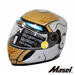フルフェイス ヘルメット インナーサンシェード付 830I Masei(マセイ)|madmax