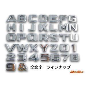 アルファベット クロムエンブレム|madmax