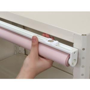 ロールスクリーン ネオジム磁石式 ロールカーテン マグネットの写真