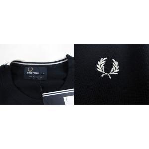 フレッドペリー FRED PERRY メンズ ニット セーター 長袖 トップス K4501-27 / 395 / ネイビー/ホワイト サイズ:L/XL/XXL|madoricci|03