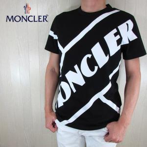 モンクレール MONCLER メンズ 半袖 ロゴ プリント Tシャツ 8C70610 8390T /...