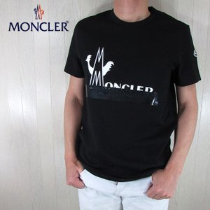 モンクレール MONCLER メンズ Tシャツ 半袖 8C70910 8390T / 999 / ブ...