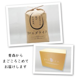 米 20kg 白米 10kg×2袋小分け 令和元年 青森県産 ふるさとのお米|maeda-rice|02