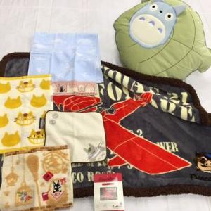ジブリ7点セット   ひざ掛け毛布とクッション、タオル   ★商品詳細★   1.クッション×1  ...