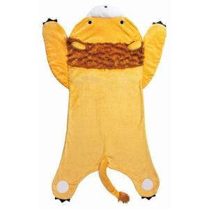履くブランケット毛布(ライオン)約72×135cm 履けるブランケット毛布 寝袋