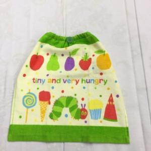 入園入学の準備に^^  ループ付き兼用タオル  おくちもふけて、手もふけて、エプロン代わりに。  ス...