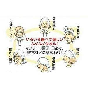 日本製「ガーゼ手ぬぐい(バラ/カラーおまかせ)」約34×86cm ガーゼ地二重袷 maedafuton 02