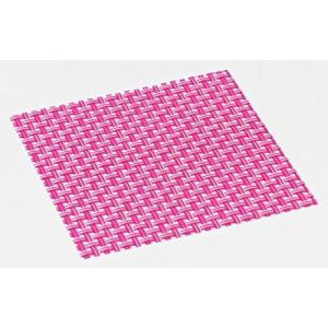 おしゃれ コースター (12枚セット) ピンク 簡単に汚れが拭ける コースター 水洗いもできて清潔 撥水 インテリア の 敷物 にも|maedaya
