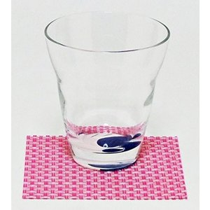 おしゃれ コースター 12枚セット ピンク 簡単に汚れが拭ける コースター 水洗いもできて清潔 撥水 インテリア の 敷物 にも 買い回り|maedaya|04