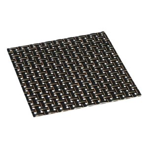 おしゃれ コースター ブラックステッチ (4枚セット) 簡単に汚れが拭ける コースター 撥水 仕様 水洗いもできて清潔 インテリア の 敷物 にも maedaya