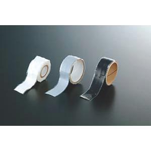 シリコン ゴム 伸縮 密着 テープ  (ブラック) 1m|鍋つかみ(耐熱・滑り止め) 水漏れ・エアー漏れ 配管補修|各種ホース の 補修 施工|maedaya
