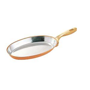 本物を求めるプロが愛用する銅製の調理器具。 銅は熱伝導率に優れており、全体に均一に火が通るので、焼き...