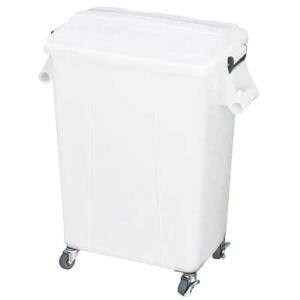 ダストペール プラスチック製 キャスター付 トンボ厨房ダストペール 45型 ナチュラル 蓋付 国産 日本製|maedaya