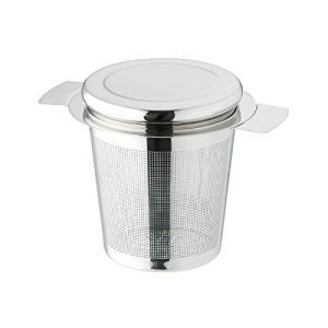 おしゃれ で かわいい マグカップ 用 ティー ストレーナー 茶こし ステンレス製 蒸らし蓋付