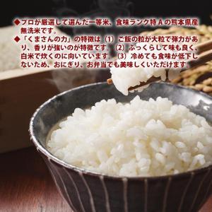 無洗米 プロが選ぶ一等 米 食味ランク特A くまさんの力 5kg 平成29年産 精米 福岡県産|maedaya|03
