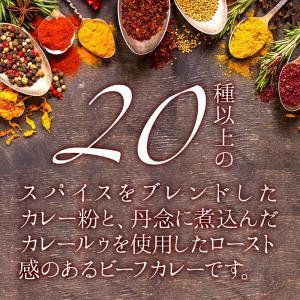 新商品 カレー専門店の ビーフカレー 8食セット 甘口 レトルトカレー カツ ハンバーグ エビフライ 野菜 うどんなど お好みの具やトッピングにあわせやすい maedaya 08