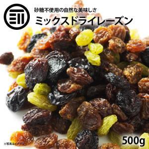 ドライフルーツ レーズン ミックス 500g 贅沢ミックスレーズン 女性に嬉しい果物サプリメント 砂...