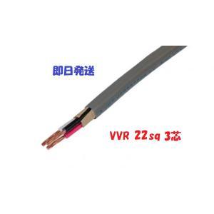 VVR(SV) 22×3芯 vvr 電力ケーブル 電線 (22sq 3c) 1m〜 maegawadenki2